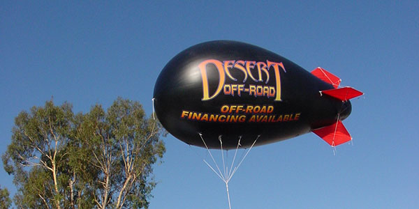 Inflatable - Desert Off Road Custom Graphics