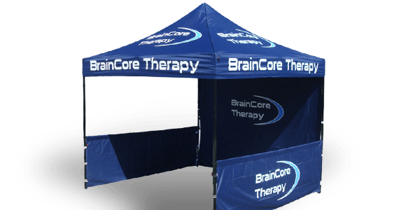 Printed Tent with Logo