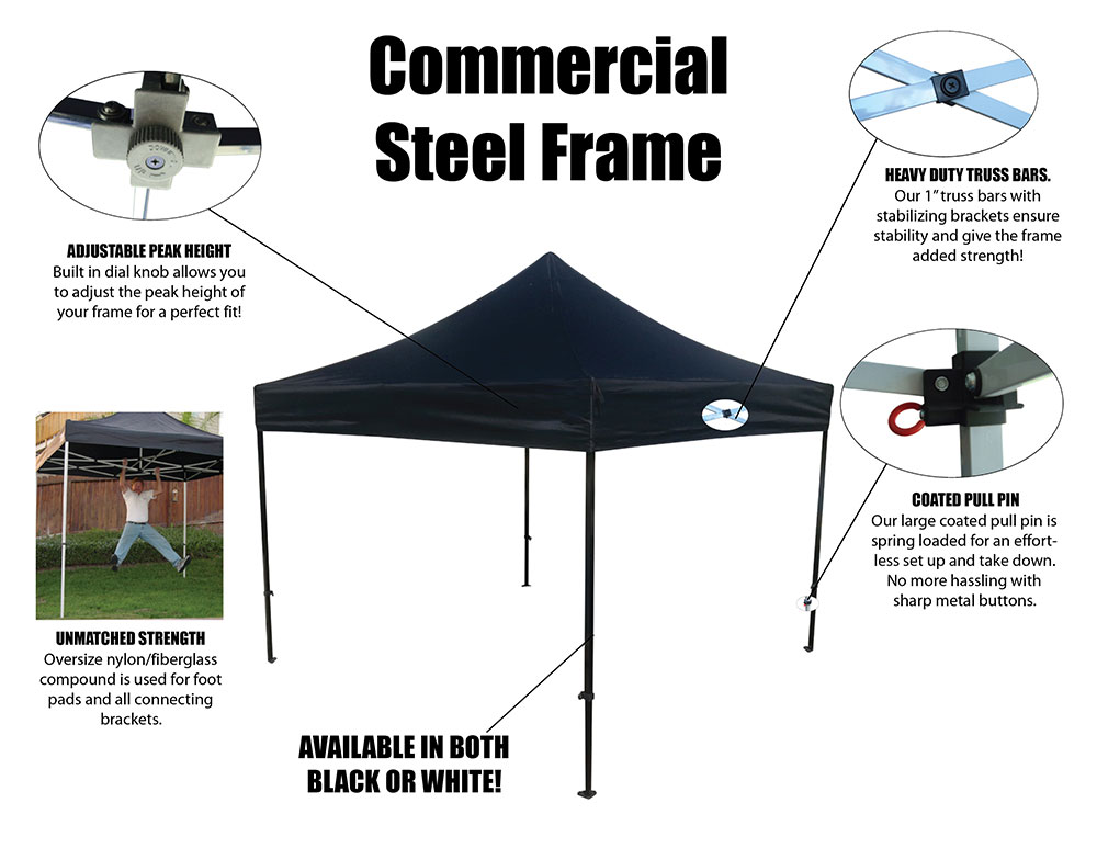 Tent Features Tent Features  sc 1 st  Visual Impact Promotions & Tent Frames | VIP