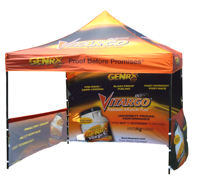 Custom Printed Tent with Logo